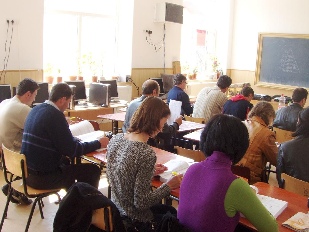 """Proiectul: """"Economia bazata pe cunoastere"""" 2009 CHOJDENI"""
