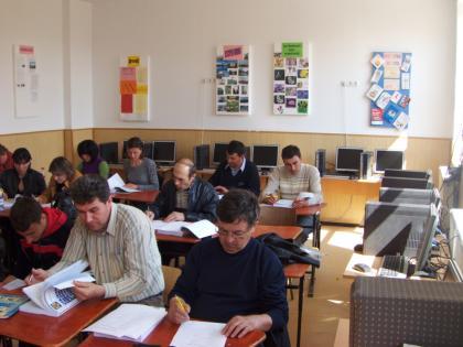 """Proiectul: """"Economia bazata pe cunoastere"""" 2009 chiojdeni1"""