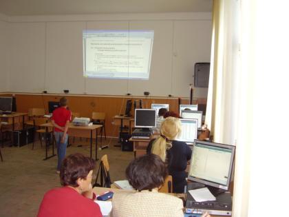 """Proiectul: """"Economia bazata pe cunoastere"""" 2009 florica"""