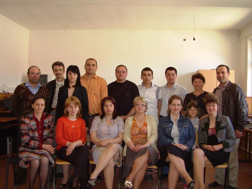 "Proiectul: ""Economia bazata pe cunoastere"" 2009 nistoresti grup"