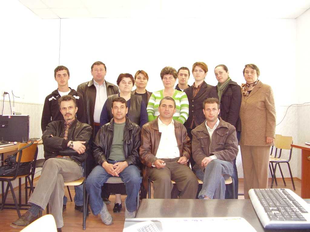 """Proiectul: """"Economia bazata pe cunoastere"""" 2009 valea sarii grup"""