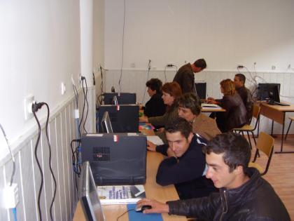 """Proiectul: """"Economia bazata pe cunoastere"""" 2009 valeasarii 1"""
